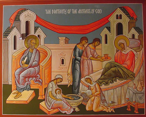 Divine Liturgy- Tuesday, the 8th of September- the Nativity of the Most Holy Mother of God (Theotokos).